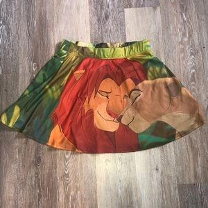 Lion King Skirt XL